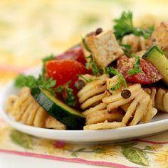 no mayo cold pasta salad