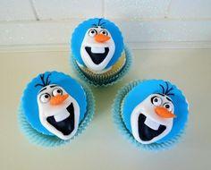 Tutorial: Olaf Cupcake Toppers | CakeJournal.com