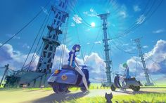 City Anime Wallpapers Imagen Scenery Original Ciudad Montain Picture ([>>https://shorte.st/es/ref/f3865e4100<<])