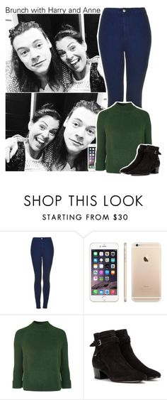 """""""Brunch with Harry and Anne"""" by perfectharry ❤ liked on Polyvore featuring Topshop and Yves Saint Laurent"""