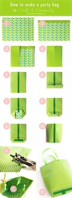 DIY Party bags by Kim's Own