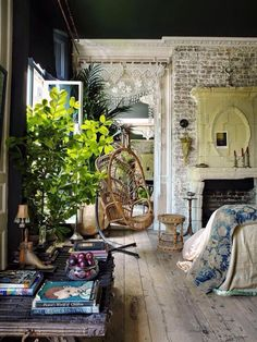 Beautiful boho room