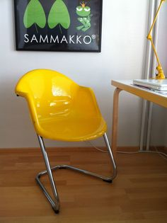 Vintage Kukkapuro chair 419