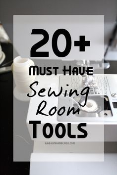 List of 20+ MUST HAVE Sewing Room Tools from RaeGunRamblings.com | Find all these supplies at Joann.com
