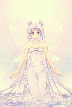 girlsbydaylight:  by じじ山 -- Queen Serenity Sailor Moon