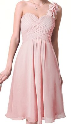 Long Bridesmaid Dress Blush Bridesmaid Dress by Prettyobession