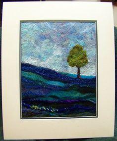 #615 Lone Tree Blues by Deebs Fiber Arts, via Flickr