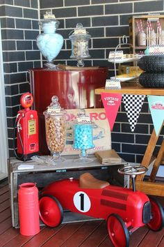 Vintage Cars Birthday Kashs 3rd Vintage Car Birthday