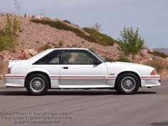 1987 Ford Mustang GT like my brother's. This thing is sick! Tinted windows tho!