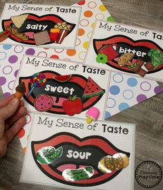 5 Senses Preschool 5 Senses Theme - Sense of Taste