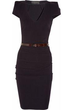 La Petite S***** Stretch-wool crepe dress