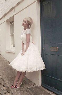 Beautiful 56 Prettiest Short Wedding Dresses Collections | A&A ...
