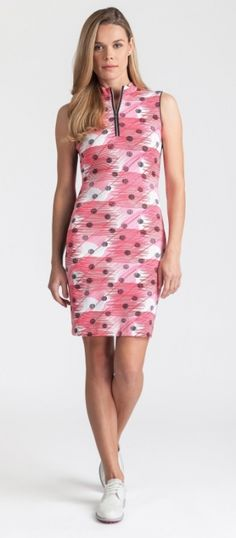 Check out what #lorisgolfshoppe has for your days on and off the golf course: Lush Tail Ladies MELROSE AVENUE Lush Golf Dress