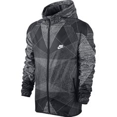 Nike Fast Track Printed Windbreaker Jacket