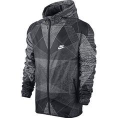 Nike Fast Track Printed Windbreaker Jacket