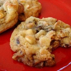 Kitchen Sink Cookies - An amazing cookie! It has chocolate chips, coconut, nuts, plus much more. Recipe and photo adapted from Food.com.