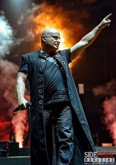 David Draiman of Disturbed  And now...to Europe.   (Photo courtesy of Brandon Delano Photography)