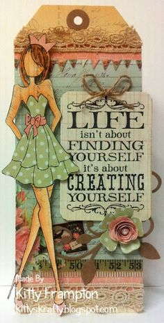 Tagart: Creating Yourself - featured at PaperCraftingStudio.com