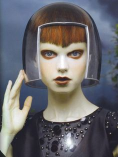Aurelia Gliwski by John Midgley for 125 Magazine #12 F/W 2008-09.