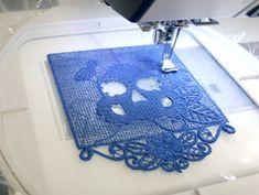 Tutorial: Stitching Freestanding Lace