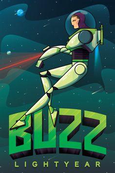 Buzz by Nick Slater #disney #reimagined