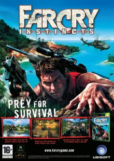 Far Cry Instincts European advertising. #farcry #ubisoft #xbox #advertising #videogames