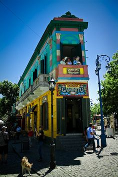 Argentina,La Boca,buenos aires http://www.travelbrochures.org/214/south-america/travel-argentina | These residences, originally built by immigrants with whatever was lying around, define and characterize the Boca neighborhood. What is everyday here is phenomenal to tourists.