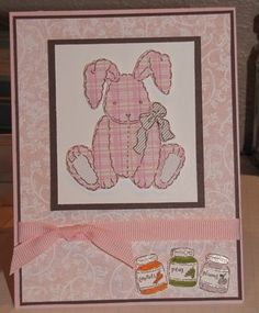 Plaid Bunny by akbride - Cards and Paper Crafts at Splitcoaststampers