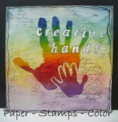 PAPER - STAMPS - COLOR: Journal 52 - 4 art journal pages...