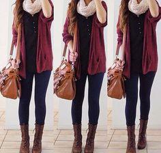 Winter outfit.  Photo from instagram: Rinasenorita