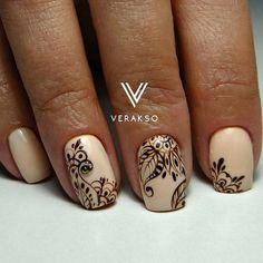 Nail Art magnetic designs for fascinating ladies. Beige Nails, Lace Nails, Nail Art Design Gallery, Best Nail Art Designs, Monogram Nails, Ombre Nail Colors, Long Square Nails, Classy Nails, Fabulous Nails