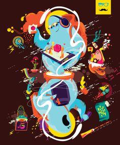 SHINKA SURU - Cover Design for Creative Gaga by Avinash Jai Singh, via Behance