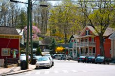 Spring in Chester Connecticut