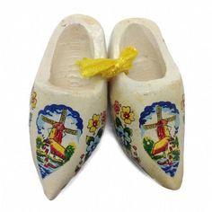 Netherlands Wooden Shoes Clogs Multi-Color