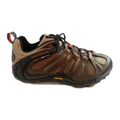 Merrell-Chameleon-Wrap-Slam-Mens-Hiking-Shoes-Walnut