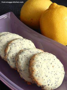 Zitronen-Mohn-Plätzchen / Lemon Poppy-Seed Cookies Heute gebacken, sehr lecker!