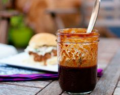 I used this recipe but substituted the tomato and ketchup for butternut squash (my mom can't have tomato).  It is amazing! BBQ Sauce!