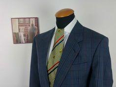 Men s Christian Dior size 42S SLIM Blazer Wool Plaid Prince of Wales gr. 26 VTG