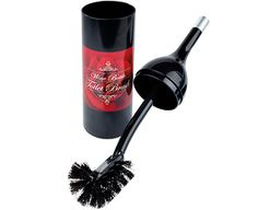 Original Gift Company Red Wine Bottle Toilet Brush, Polypropylene Make sure they don't bottle out of their toilet cleaning duties! A great fun gift for any wine lover, this novelty toilet brush looks like a real bottle of red wine. But lift the aluminium cap to disc http://www.MightGet.com/february-2017-2/original-gift-company-red-wine-bottle-toilet-brush-polypropylene.asp