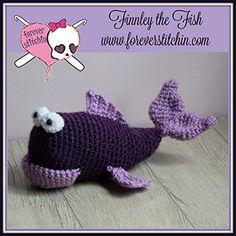 Finnley the Fish Amigurumi - Crochet Pattern by @foreverstitchin | Featured at Forever Stitchin - Sponsor Spotlight Round Up via @beckastreasures | #fallintochristmas2016 #crochetcontest #spotlight #crochet #roundup