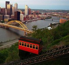 Duquesne Incline, Pittsburgh, PA. Sounds lame, but I've always wanted to do this.