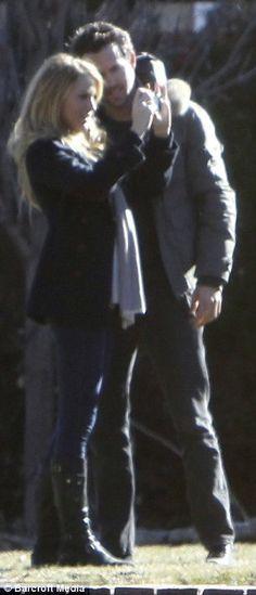 Blake Lively and Ryan Reynolds in Utah