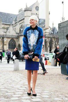 Elisa Nalin | Paris Fashion Week AW 2012 | Team Peter Stigter