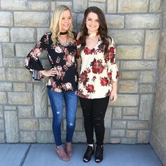 These floral tops could not be any cuter!! $43.75 Comment below with PayPal to purchase and ship or comment for 24 hour hold #repurposeboutique#shoprepurpose#boutiquelove#style#trendy#musthaves#obsessed#fashion#spring