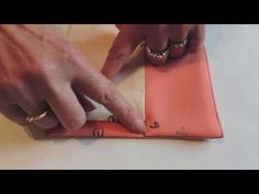 Sewing, 2 ways to sew a lined jacket corner. - YouTube