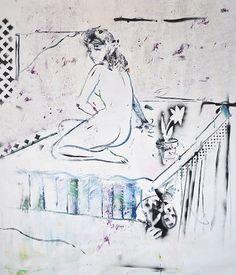 The blue nude by Razvan Boar