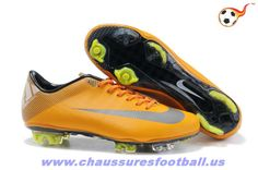 582d3d43d Nike Mercurial Vapor Superfly III FG Orange Gris FT1455 Nike Soccer