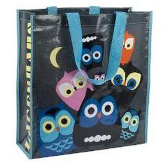 Owl print tote #owl #bag #tote