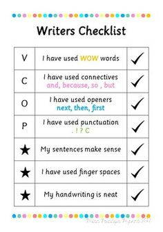 27 Best VCOP images | Teaching punctuation, Warm up games ...