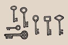 Key Drawings by Feanne on Creative Market